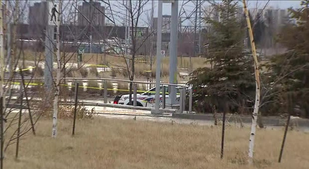 Police are investigating a shooting outside Highway 407 Station that left one man critically injured.