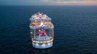 The Symphony of the Seas cruise ship is pictured in this promotional image. (RoyalCaribbean.com)