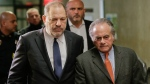 In this Dec. 20, 2018 file photo, Harvey Weinstein, left, arrives at New York Supreme Court with his attorney Benjamin Brafman in New York. (AP Photo/Seth Wenig, File)
