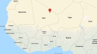 Aguelhok, Mali is indicated on this map. (Google)