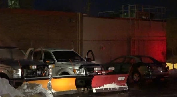 Police investigating 'suspicious' fire that damaged 3 vehicles in Scarborough