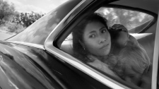"This image released by Netflix shows Yalitza Aparicio in a scene from the film ""Roma,"" by filmmaker Alfonso Cuaron. (Alfonso Cuarón/Netflix via AP)"