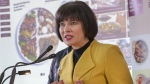 Health Minister Ginette Petitpas Taylor unveils Canada's new Food Guide, Tuesday, January 22, 2019 in Montreal.THE CANADIAN PRESS/Ryan Remiorz