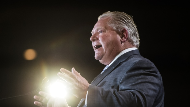 Doug Ford says the federal carbon tax will plunge Canada into recession