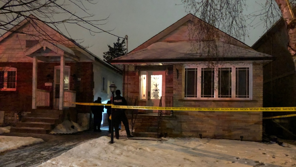 Police are investigating a fatal stabbing near St. Clair Avenue and Jane Street.