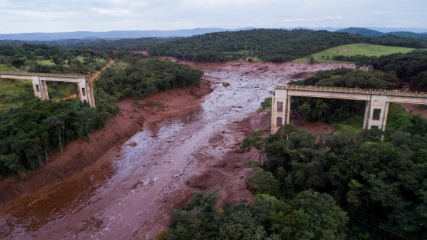 Death toll from Brazil dam disaster hits 65