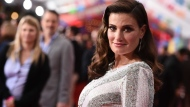 "In this Nov. 8, 2017, file photo Idina Menzel arrives at the Los Angeles premiere of ""Coco"" at the El Capitan Theatre in Los Angeles. (Photo by Jordan Strauss/Invision/AP, File)"