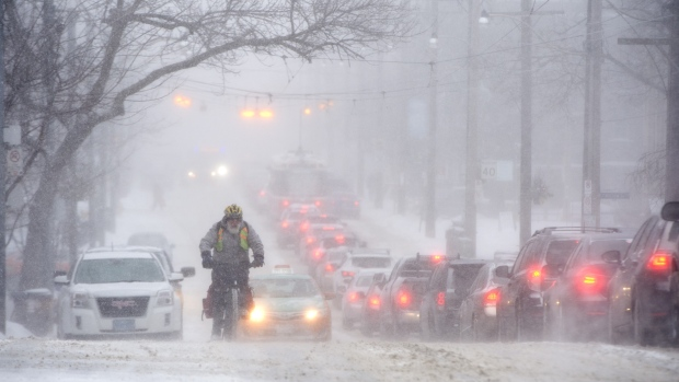 Snow Storm Toronto: Toronto, Much Of Southern Ontario Under Winter Storm Watch