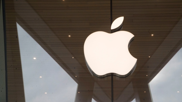 In this Jan. 3, 2019, file photo the Apple logo is displayed at the Apple store in the Brooklyn borough of New York. (AP Photo/Mary Altaffer, File)