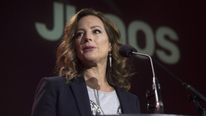 Sarah McLachlan speaks at the Juno Awards Nominations event in Toronto on Tuesday, January 29, 2019. The 12 time Juno Award winner will host this year's awards show. THE CANADIAN PRESS/Chris Young