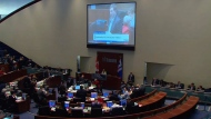 Toronto city council discuses the mayor's affordable housing plan on Wednesday, Jan. 30, 2019.