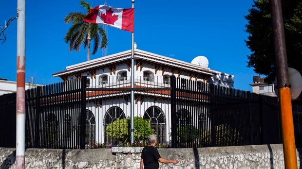 Canada reducing Canadian staff at Cuba embassy by half