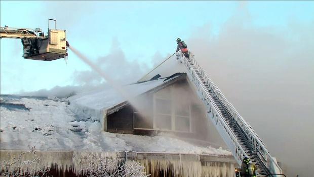 Agincourt Recreation Centre fire
