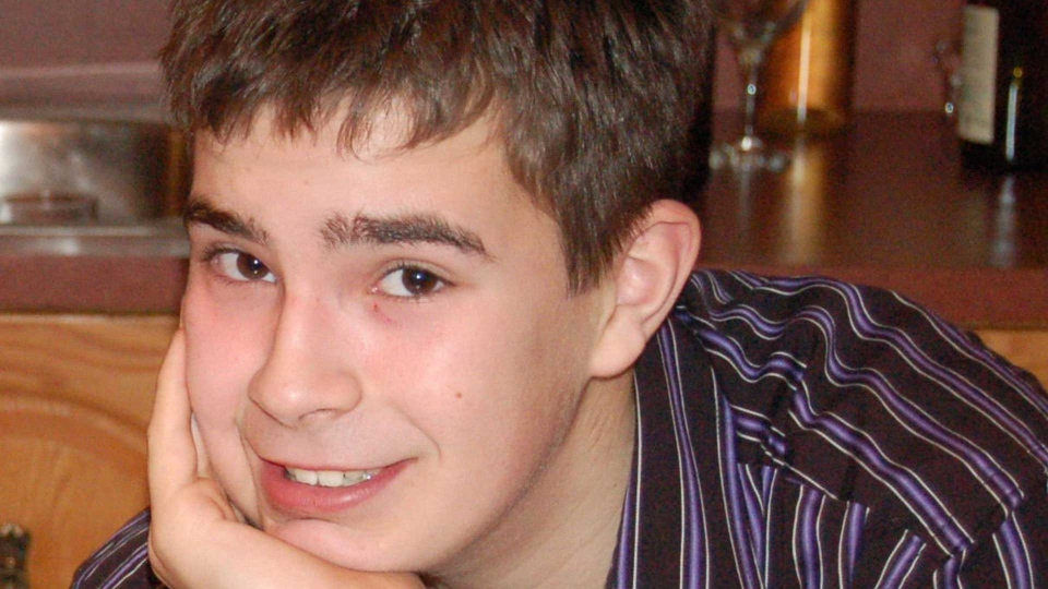 Missing Quebec teenager David Fortin is shown in a handout photo. THE CANADIAN PRESS/HO, Reseau Enfants-Retour MANDATORY CREDIT