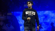 In this Sunday, Oct. 28, 2018, file photo, 21 Savage performs at the Voodoo Music Experience in City Park in New Orleans. (Photo by Amy Harris/Invision/AP, File)