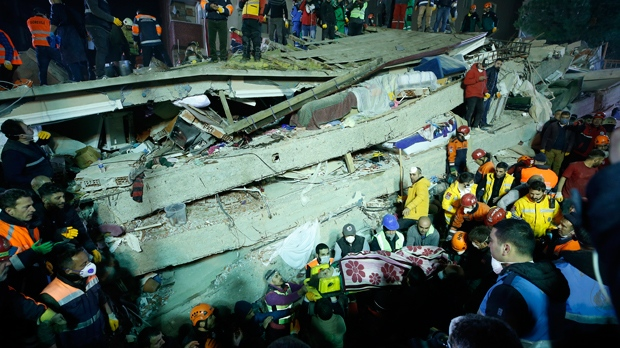 Five-year-old girl rescued from collapsed building in Turkey