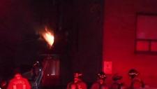 Weston fire