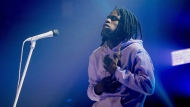 Daniel Caesar performs at Toronto's Danforth Music Hall on December 17, 2017. THE CANADIAN PRESS/Chris Young