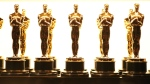 In this Feb. 26, 2017 file photo, Oscar statuettes appear backstage at the Oscars in Los Angeles. Responding to widespread backlash to the fact that four Oscars will be presented during commercial breaks at the 91st Academy Awards, the film academy has issued a statement reiterating that all Academy Award winners will still be included in the broadcast on Feb. 24, just not all live. (Photo by Matt Sayles/Invision/AP, File)