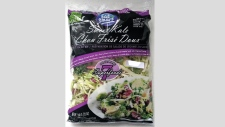 salad bag recall