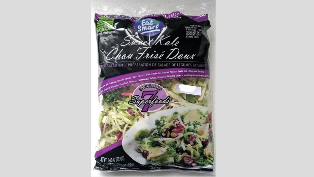 Eat Smart brand salad bags recalled due to possible Listeria contamination
