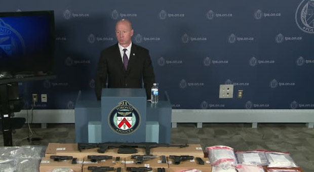 Police seized about $700,000 worth of narcotics as part of a joint investigation involving police in Toronto and Ottawa.