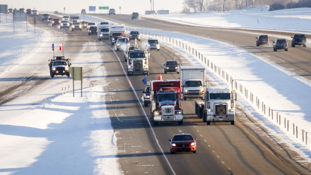 Pro-pipeline protest convoy reaches Ottawa after rolling across country