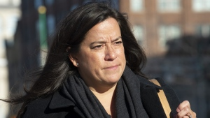 Liberal MP Jody Wilson-Raybould leaves the Parliament buildings following Question Period in Ottawa, Tuesday, February 19, 2019. The House of Commons justice committee will begin hearings today into the allegation that the Prime Minister's Office improperly pressured former attorney general Jody Wilson-Raybould to help Montreal engineering giant SNC-Lavalin avoid criminal prosecution. THE CANADIAN PRESS/Adrian Wyld