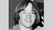 This July 6, 1967, file photo shows Peter Tork of the musical group The Monkees at a news conference at the Warwick Hotel in New York. (AP Photo/Ray Howard, File)