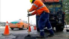 Pothole blitz