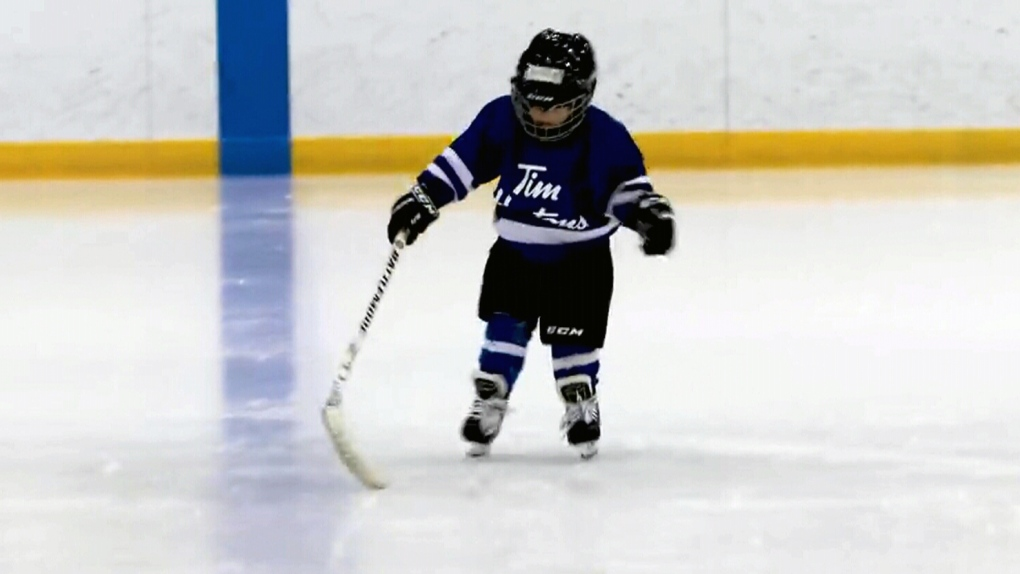 Let's nap': Kid mic'd up at hockey practice | CP24 com