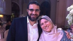 The family of a Canadian man detained in Egypt is calling on the federal government to step in after they were informed that he is being held in a notorious prison without charge. Yasser Ahmed Albaz and his wife Safaa Elashmawy are seen in an undated handout photo. THE CANADIAN PRESS/HO-Safaa Elashmawy