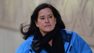 Former Liberal justice minister Jody Wilson-Raybould walks to Parliament Hill in Ottawa on Tuesday, Feb. 26, 2019. THE CANADIAN PRESS/Sean Kilpatrick