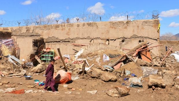 UN says heavy rains, floods kill 20 in southern Afghanistan