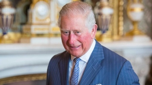 Britain's Prince Charles, the Prince of Wales attends a reception at Buckingham Palace, London, Tuesday March 5, 2019, to mark the fiftieth anniversary of the investiture of the Prince of Wales. (Dominic Lipinski/Pool via AP)