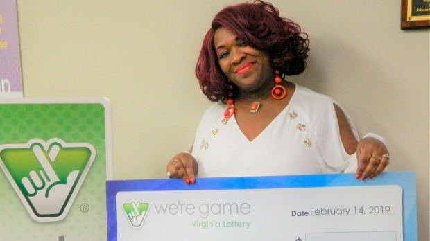 Virginia woman wins the lottery 30 times in one day