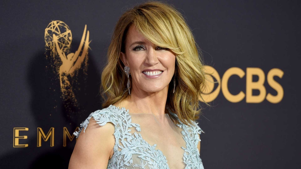 This Sept. 17, 2017 file photo shows actress Felicity Huffman at the 69th Primetime Emmy Awards in Los Angeles. (Photo by Jordan Strauss/Invision/AP, File)