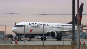 An Air Canada plane is seen in this file photo.