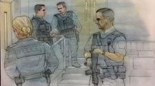 Peel police, brampton court