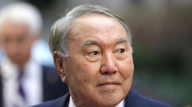Kazakh leader Nazarbayev resigns after three decades