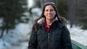 Andrea Speranza, a captain with Halifax Regional Fire & Emergency, visits Shubie Park in Dartmouth, N.S. on Tuesday, March 12, 2019. Speranza says she was the victim of an elaborate scheme by a con man. He essentially seduced her, won her trust through romantic gestures, and then conned her out of thousands of dollars. She has since found several victims of the same man across the country. Some have lost their homes and life savings to the same man. THE CANADIAN PRESS/Andrew Vaughan