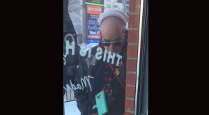 Police have released this photo of a suspect who allegedly exposed himself to customers at a Vaughan coffee shop. (York Regional Police handout)