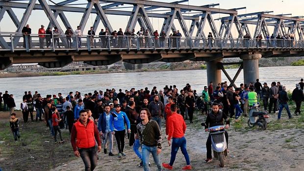 Iraq ferry sinking: more than 70 people drown in Mosul