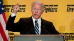 In this March 12, 2019 photo, former Vice President Joe Biden speaks to the International Association of Firefighters at the Hyatt Regency on Capitol Hill in Washington. As the former vice president inches closer toward a third White House run, several moments in his long career loom as immediate political liabilities should he decide to join a Democratic primary already stocked with more than a dozen candidates. From his vote for the Iraq war to his key role in passing a bill that made bankruptcy harder to declare for debt-ridden Americans, Biden would have multiple fronts on which to reconcile his past with the future of a party that's moved leftward even since he left former President Barack Obama's administration. (AP Photo/Andrew Harnik)