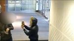 bear, spray, robbery, Fairview Mall