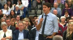 Trudeau, town, hall