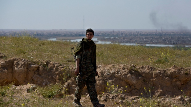 Kurds declare ISIS control in Syria over
