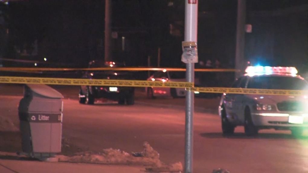 Police searching for suspects after man shot in chest in Lawrence Heights