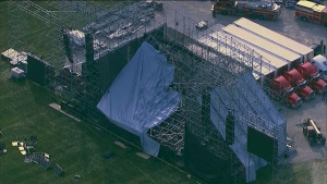 Downsview Park stage collapse