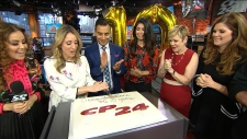 CP24 Breakfast 10th anniversary